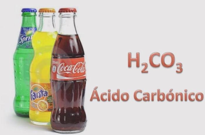 formulación del ácido carbónico